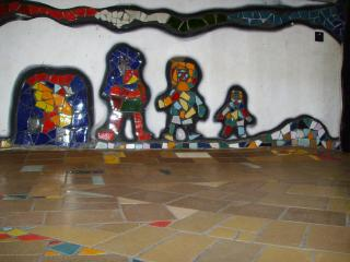 обои Hundertwasser Kindergarten фото