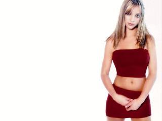 обои Бритни в бордовом фото