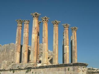 обои Древнегреческие колонны коринфского стиля фото