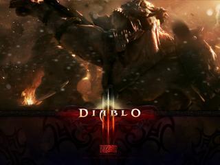 обои В пылу битву Diablo фото