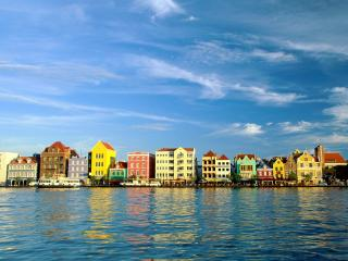 обои City Afloat, Handelskade, Willemstad, Curacao(Netherlands Antilles) фото