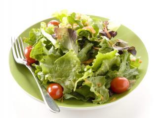 обои Salad on plate фото