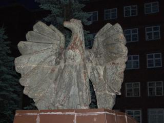 обои Статуя орла фото