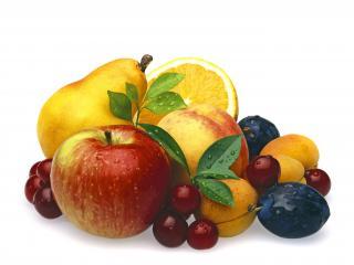 обои Ассорти из фруктов и ягод фото