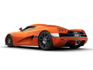 обои 2006 Koenigsegg CCX Orange фото