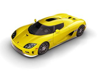 обои 2006 Koenigsegg CCX Yellow SA Top фото