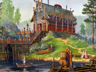 обои Храм Свентовида фото