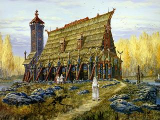 обои Храм Хорса фото