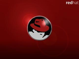 """обои Силуэт человеческой головы в красной шляпе """"Red Hat"""" фото"""