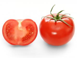 обои Bright red tomato фото