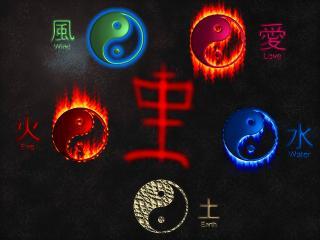обои Пять дао - пять олицетворений стихий фото