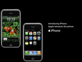 обои Introducing iPhone Apple reinvents the phone фото