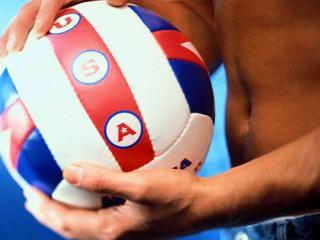 обои Мяч для волейбола фото