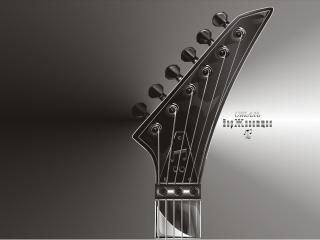 обои Именная гитара фото