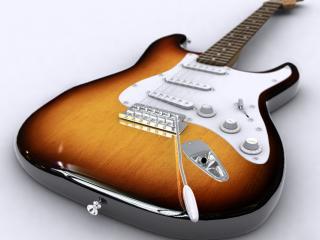 обои Современная гитара фото