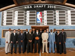 обои NBA Draft 2006 фото