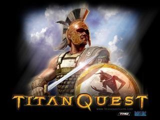 обои Titan quest THQ фото