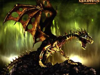 обои Guikd wars костяной дракон фото