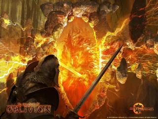 обои Вход во врата Oblivion фото