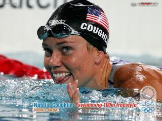 обои Олимпийская чемпионка Н. Куглин фото
