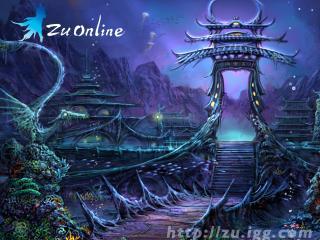 обои Zu Online Замок фото
