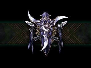 обои Официальная эмблема Ночных Эльфов фото
