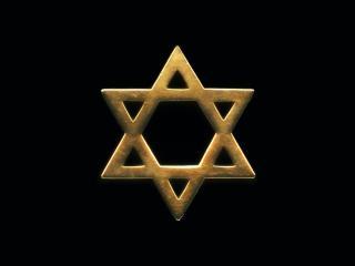 обои Еврейский символ из бронзы Звезда Давида фото
