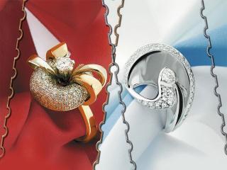 обои Оригинальные кольца фото