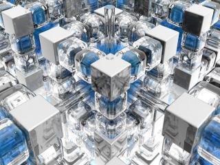 обои Ядёрный, кубический реактор фото