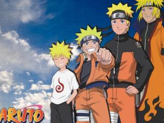 обои Naruto small or big фото