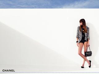 обои Бренд Шанель клетчатый пиджак фото