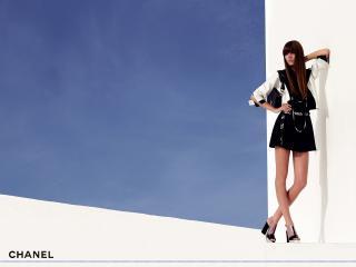 обои Бренд Шанель черная юбка фото