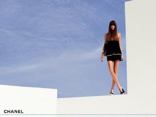 обои Бренд Шанель женственное платье фото