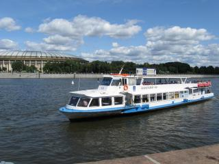 обои На реке Москва фото