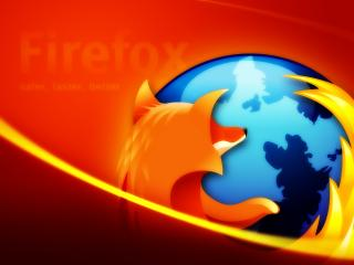 обои Official Firefox Mozilla Wallpaper Red фото