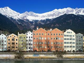 обои Inn river,Innsbruck,Austria фото