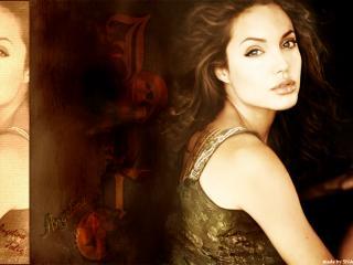 обои Джоли фото