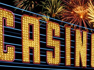 """обои Надпись """"Casino"""" фото"""