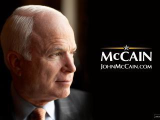 обои US presidential John McCain фото