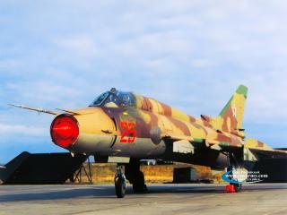 обои Истребитель-перехватчик Су-22 фото