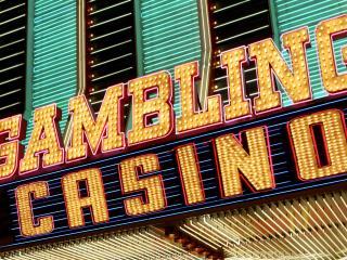 обои Gambling Casino вывеска фото