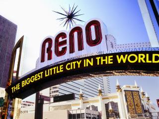 обои Reno - the biggest little city in the world фото