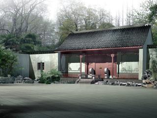 обои Двор в Японии фото