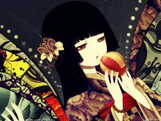 обои Jigoku Shoujo фото