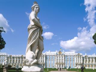 обои Екатеринский дворец, Пушкин, Санкт-Петербург, Россия фото