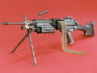 "обои Бельгийский пулемет ""MINIMI"" фото"