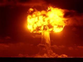 обои Ядерный взрыв фото
