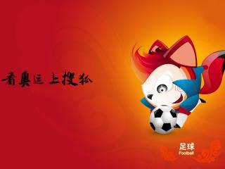 обои Шанхайский футбол с лисами фото