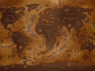 обои Fantastic map фото