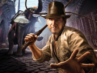 обои Games Indiana Jones and the staff of Kings фото